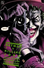 Cover art for Batman: The Killing Joke by Brian Bolland