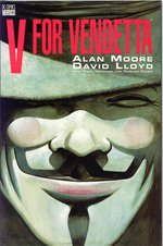 Cover art for the collected edition of V for Vendetta by David Lloyd