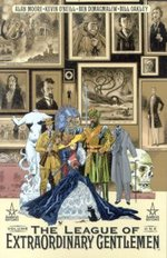 Cover art for the collected edition of The League of Extraordinary Gentlemen by Kevin O'Neill