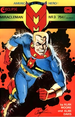 Cover art for Miracleman #3 by Howard Chaykin