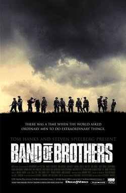 Poster for Band of Brothers. An alternative poster can be seen here.