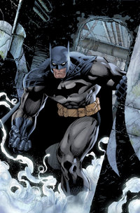 Batman. Art by Jim Lee.