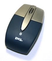 A Bluetooth mouse