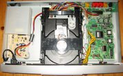 the internals of a DVD player