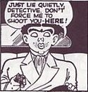 """Flattop"" Jones, Dick Tracy's famous enemy"