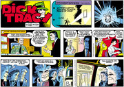 Dick Tracy Sunday strip from 2005. Art by Dick Locher.