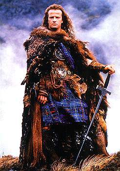 Connor MacLeod of the Clan MacLeod (Christopher Lambert)