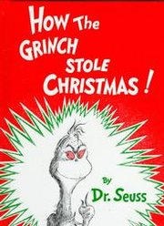 The cover to How the Grinch Stole Christmas!