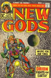 New Gods, flagship title of the Fourth World series, Kirby's most notable later creation.