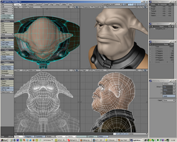 Screenshot of Modeler 8.3