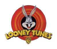 Looney Tunes logo, featuring Bugs Bunny.