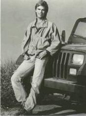 MacGyver and his trademark Jeep Wrangler, about which very little is known.