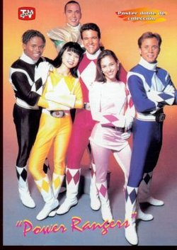 The Original Power Rangers as portrayed in Mighty Morphin Power Rangers