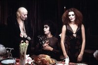 Richard O'Brien, Tim Curry and Patricia Quinn in The Rocky Horror Picture Show.