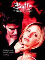 Gellar as Buffy the Vampire Slayer, on the second season DVD cover.