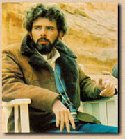 George Lucas shooting A New Hope in 1976.