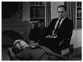 "William Bendix and Martin Balsam in ""The Time Element"""