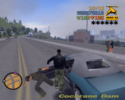 Grand Theft Auto III is an example of a game that is popular as a console game as well as a computer game.