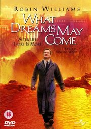 DVD cover for What Dreams May Come