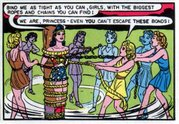 For Wonder Woman, bondage is not just a crime-fighting technique.