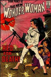 By the late 1960s, Wonder Woman had more in common with Emma Peel than superheroes.