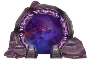 An example of a portal from World of Warcraft.