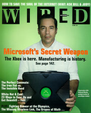 The Xbox was featured on the cover of the November 2001 issue of Wired magazine.