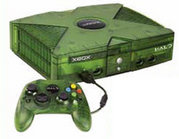The Halo Special Edition Xbox released in March 2004.